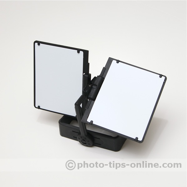 PRESSlite VerteX flash reflector: white panels