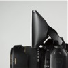 Promaster Universal Softbox for built-in flash: on camera, side view