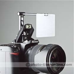 Promaster SystemPRO Pop-Up Flash Diffuser: front angle view