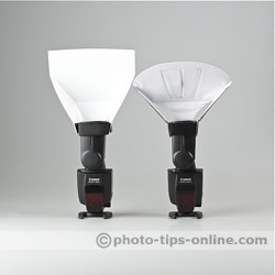 Promaster Universal Bounce Flash Reflector: compared to LumiQuest Quik Bounce
