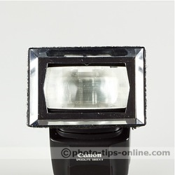 Promaster Universal Softbox flash diffuser: Canon Speedlite 580EX II fit