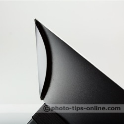 Promaster Universal Softbox flash diffuser: sides connected with Velcro