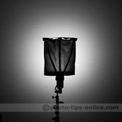 Rogue FlashBender 2 XL Pro: softbox attachment light pattern
