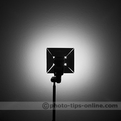 Rogue Diffusion Panels: against a wall, LumiQuest Softbox III for comparison purposes