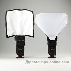 Rogue FlashBender Positionable Reflectors: compared to LumiQuest Big Bounce