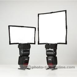 Rogue FlashBender Positionable Reflectors: Small and Large, front view