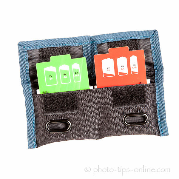 Rogue Indicator Battery Pouch: indicator cards