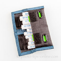 Rogue Indicator Battery Pouch: 4 AA batteries + 6 AAA batteries