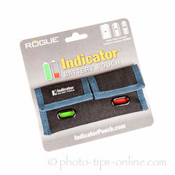 Rogue Indicator Battery Pouch: package front