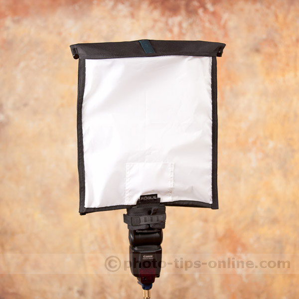 Rogue XL Pro Lighting Kit: softbox, front
