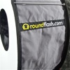 RoundFlash ring flash adapter: logo, close up