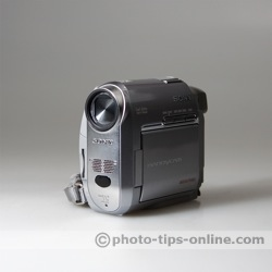 SpectraLight flash diffuser: sample picture, Sony camcorder