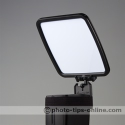 SpectraLight flash diffuser: white reflector
