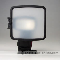 SpectraLight flash diffuser: translucent panel