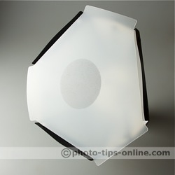 Speedlight Pro Kit 6 flash diffuser: front diffuser