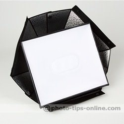 Speedlight Pro Kit 6 flash diffuser: compared to LumiQuest Softbox III