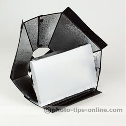 Speedlight Pro Kit 6 flash diffuser: compared to Pro Kit 4 Softbox