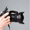 Zeh Bounce pop-up flash reflector: using auto-focus assist with Canon camera body