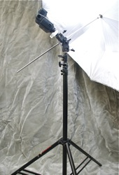 Speedlight Umbrella Location Kit by ALZO Digital
