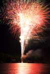 Fireworks photography tips: photo taken during the main show
